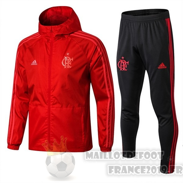 Maillot De Foot adidas Ensemble Coupe Vent Flamengo 2018 2019 Rouge
