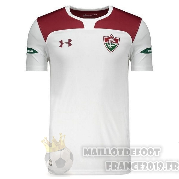 Maillot De Foot Under Armour Exterieur Maillot Fluminense 2019 2020 Blanc
