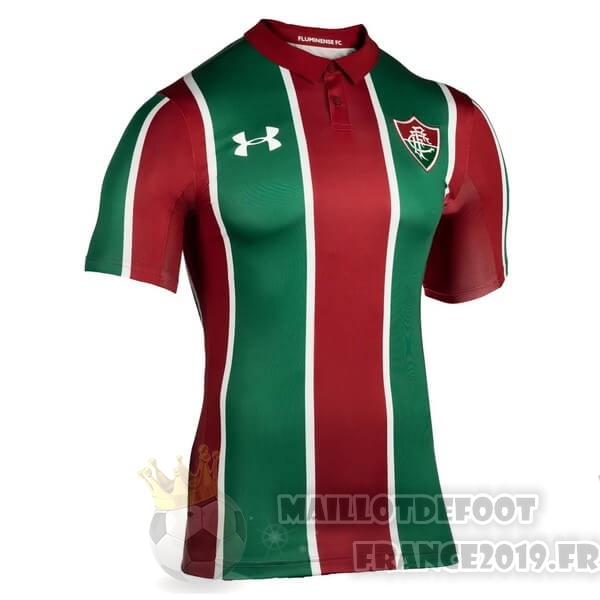 Maillot De Foot Under Armour Domicile Maillot Fluminense 2019 2020 Rouge Vert