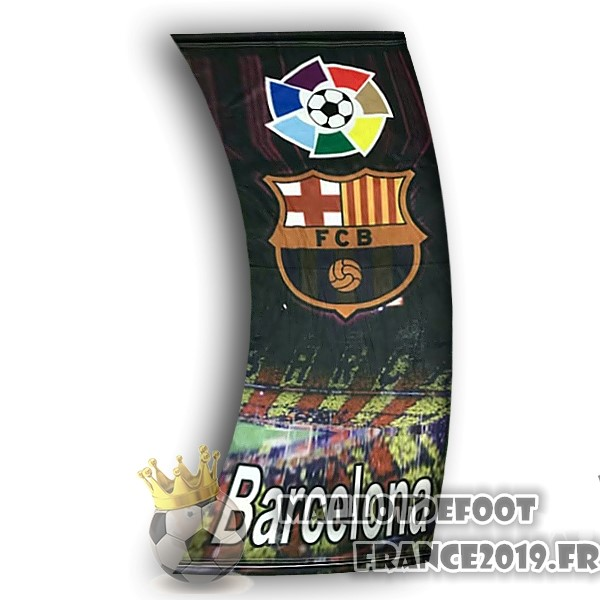 Maillot De Foot Football Drapeau de Barcelona Noir
