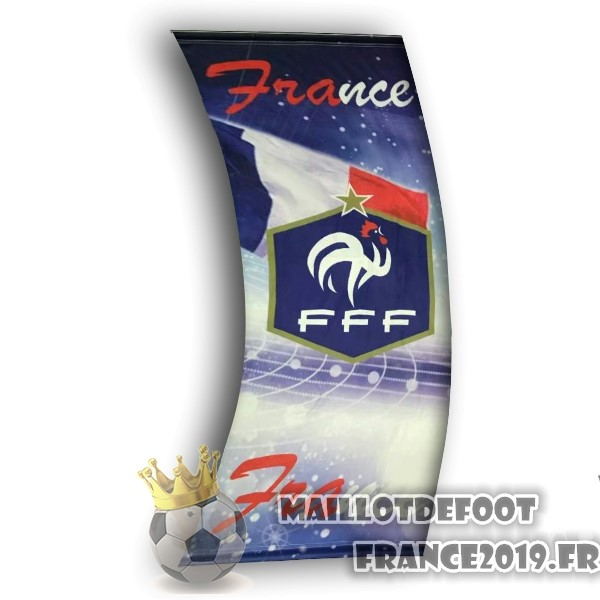 Maillot De Foot Football Drapeau de France Bleu
