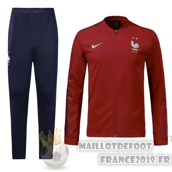 Maillot De Foot Nike FIFA Survêtements Enfant France 2018 Rouge