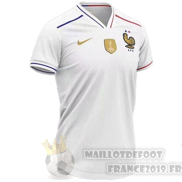 Maillot De Foot Nike Concept Maillot France 2019 Blanc