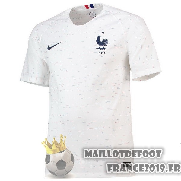Maillot De Foot Nike Exterieur Maillots France 2018 Blanc