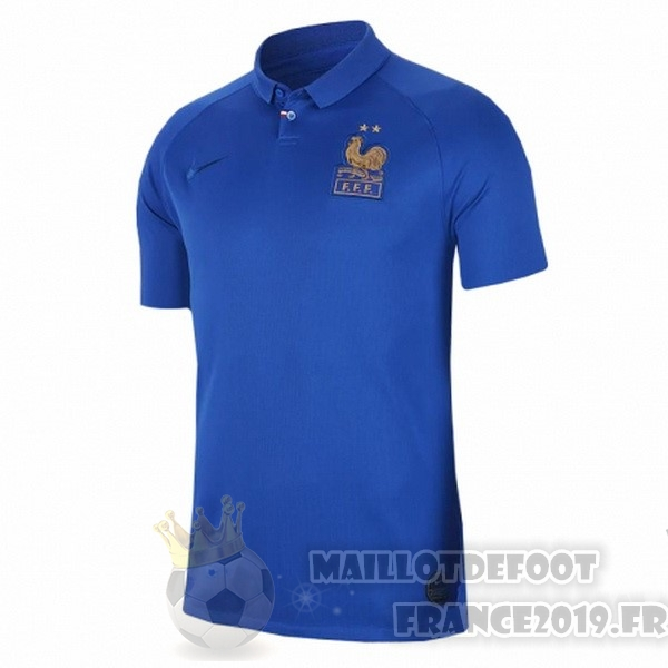 Maillot De Foot Nike Maillot Femme France 100th Bleu