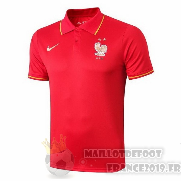 Maillot De Foot Nike Polo France 2019 Rouge