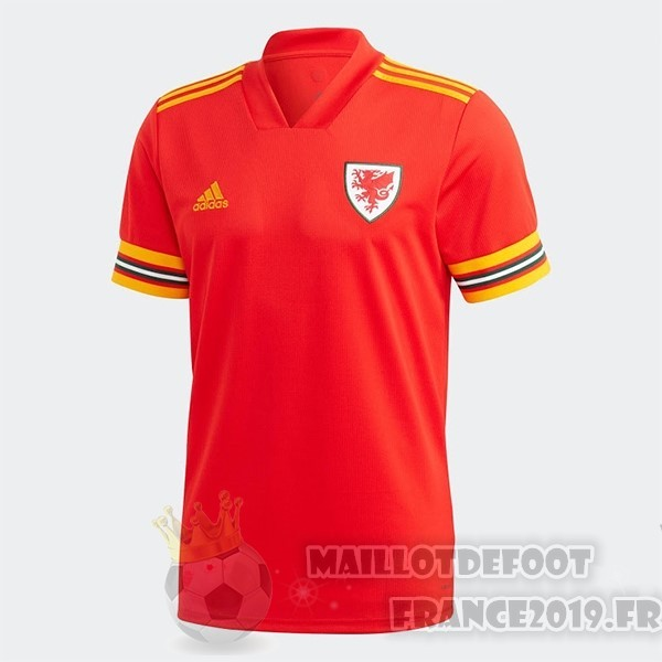 Maillot De Foot adidas Domicile Maillot Gales 2020 Rouge