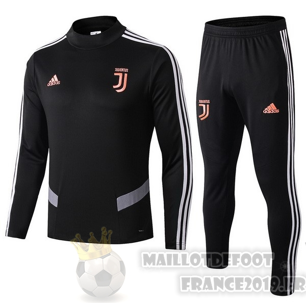 Maillot De Foot adidas Survêtements Juventus 2019 2020 Noir Orange
