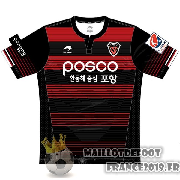 Maillot De Foot Astore Domicile Maillots Pohang Steelers 2017-2018 Rouge