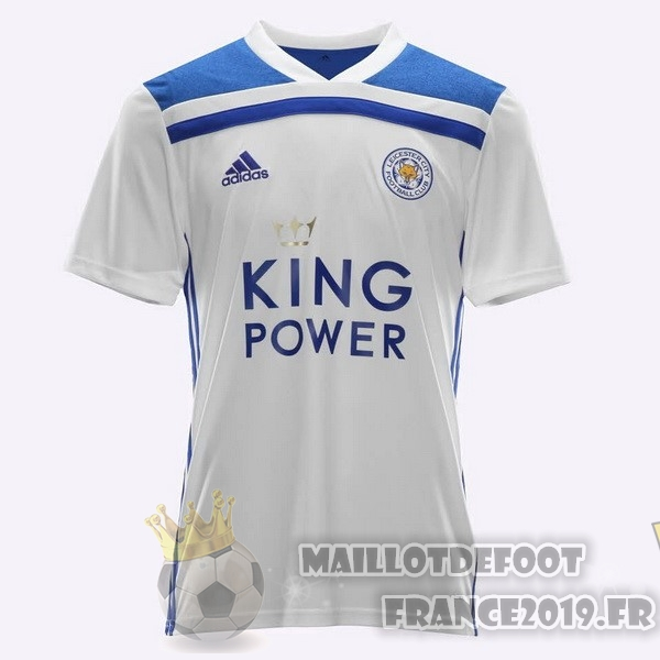 Maillot De Foot adidas Thailande Third Maillots Leicester City 2018-2019 Blanc