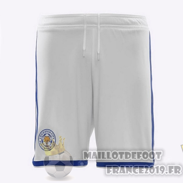 Maillot De Foot adidas Third Shorts Leicester City 2018-2019 Blanc