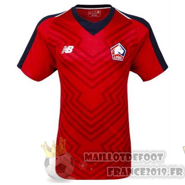 Maillot De Foot New Balance Domicile Maillots LOSC 18-19 Rouge