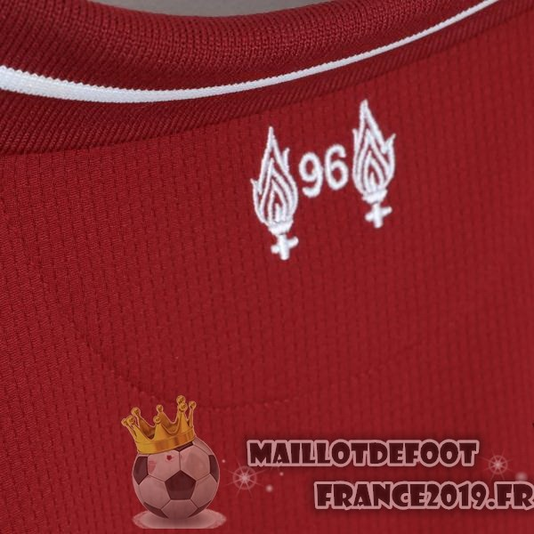 Maillot De Foot New Balance Domicile Maillots Liverpool 2018-2019 Rouge