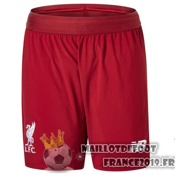 Maillot De Foot New Balance Domicile Shorts Liverpool 2018-2019 Rouge