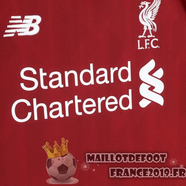 Maillot De Foot New Balance Thailande Domicile Maillots Liverpool 2018-2019 Rouge
