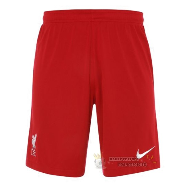 Maillot De Foot Nike Domicile Pantalon Liverpool 2020 2021 Rouge