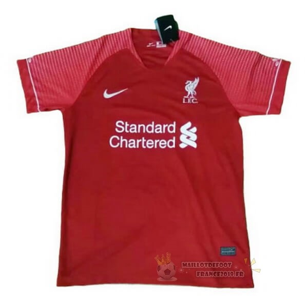 Maillot De Foot Nike Entrainement Liverpool 2020 2021 Rouge Marine