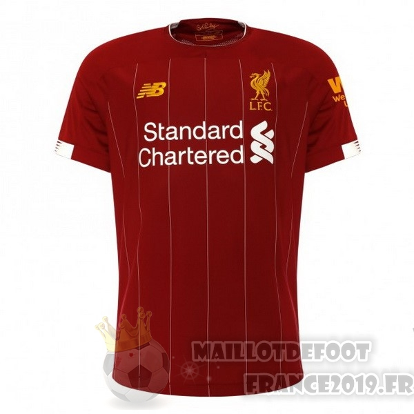 Maillot De Foot New Balance Domicile Maillot Liverpool 2019 2020 Rouge
