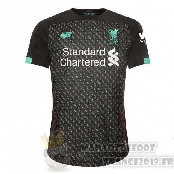 Maillot De Foot New Balance Third Maillot Liverpool 2019 2020 Noir