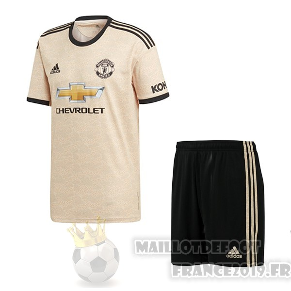 Maillot De Foot Adidas Exterieur Ensemble Enfant Manchester United 2019 2020 Orange