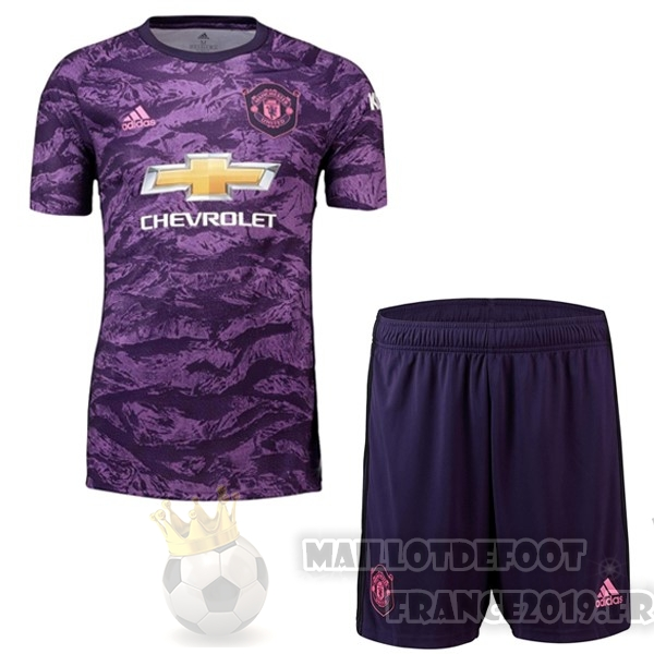 Maillot De Foot adidas Ensemble Enfant Gardien Manchester United 2019 2020 Purpura