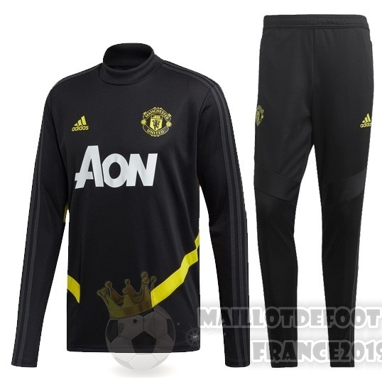 Maillot De Foot adidas Survêtements Enfant Manchester United 2019 2020 Or Noir