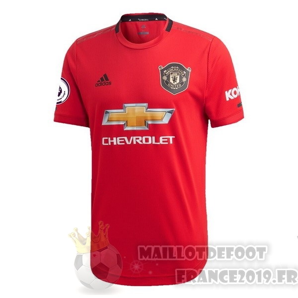 Maillot De Foot adidas Thailande Domicile Maillot Manchester United 2019 2020 Rouge