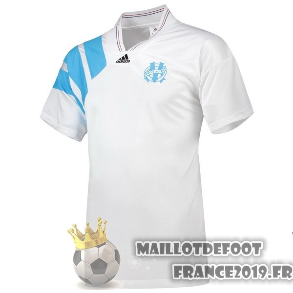 Maillot De Foot adidas 25th Maillots Marseille 1993 Blanc