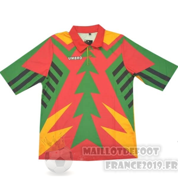 Maillot De Foot umbro Maillot Gardien Mexique Rétro 1994 Vert Orange