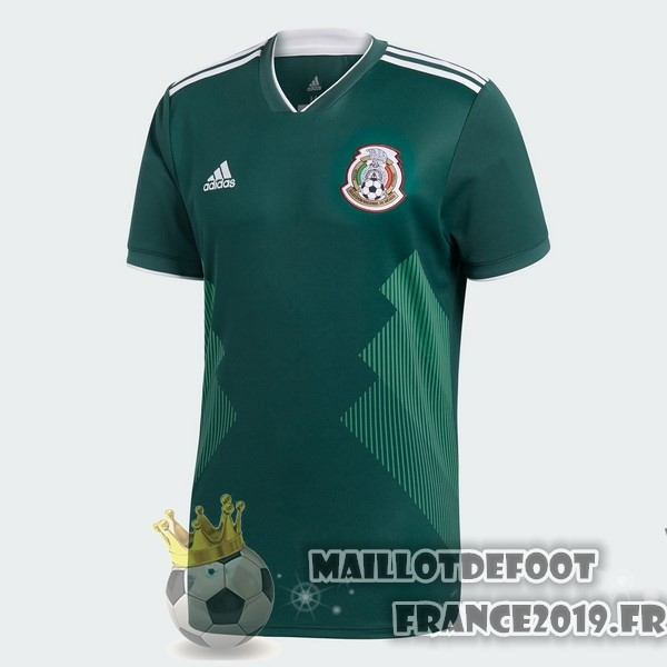 Maillot De Foot adidas Domicile Maillots Mexico 2018 Vert