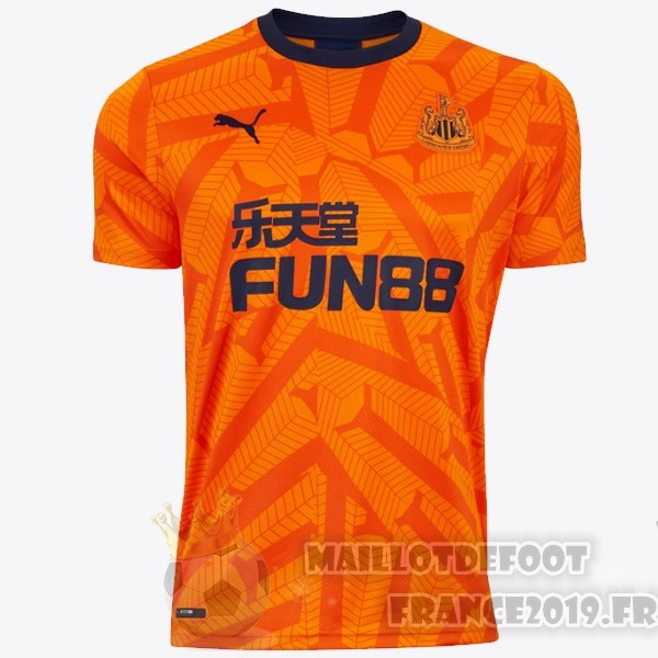 Maillot De Foot Puma Third Maillot Newcastle United 2019 2020 Orange