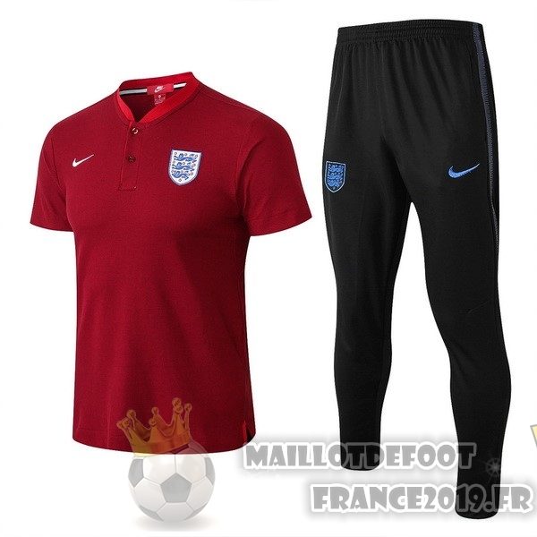 Maillot De Foot Nike Ensemble Polo Angleterre 2018 Rouge