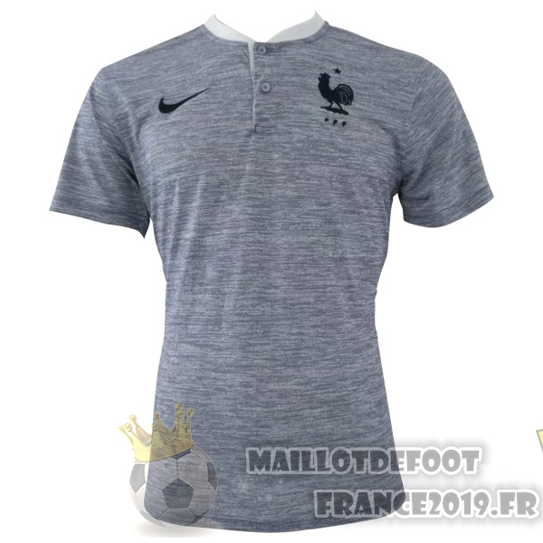 Maillot De Foot Nike Polo France 2018 Gris