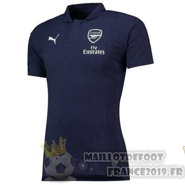 Maillot De Foot PUMA Polo Arsenal 2018-2019 Bleu