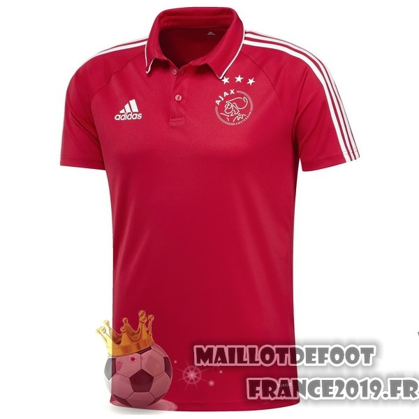 Maillot De Foot adidas Polo Ajax 2017-2018 Rouge
