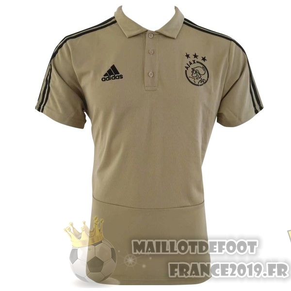 Maillot De Foot adidas Polo Ajax 2018-2019 Marron