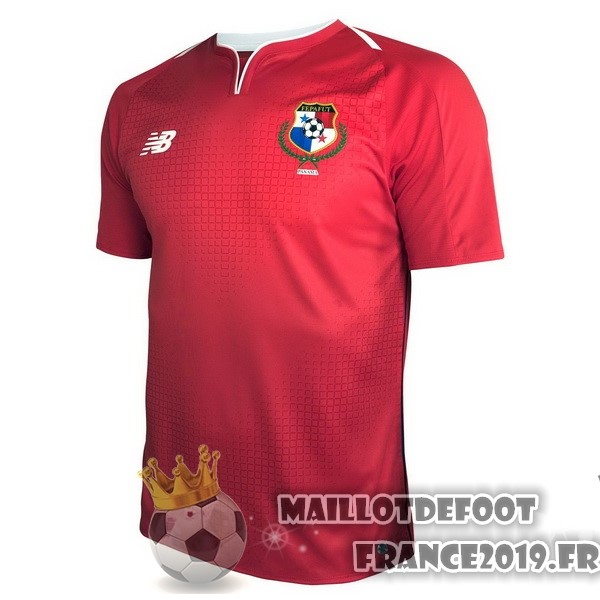 Maillot De Foot New Balance Domicile Maillots Panama 2018 Rouge