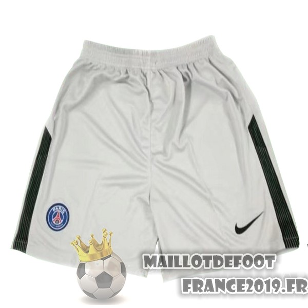 Maillot De Foot Nike Shorts Gardien Paris Saint Germain 2017-2018 Gris