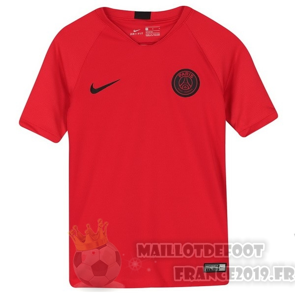 Maillot De Foot Nike Entrainement Paris Saint Germain 2019 2020 Rouge