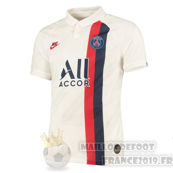 Maillot De Foot Nike Thailande Third Maillot Paris Saint Germain 2019 2020 Blanc