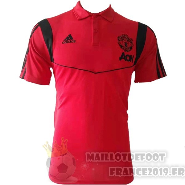 Maillot De Foot Adidas Polo Manchester United 2019 2020 Rouge