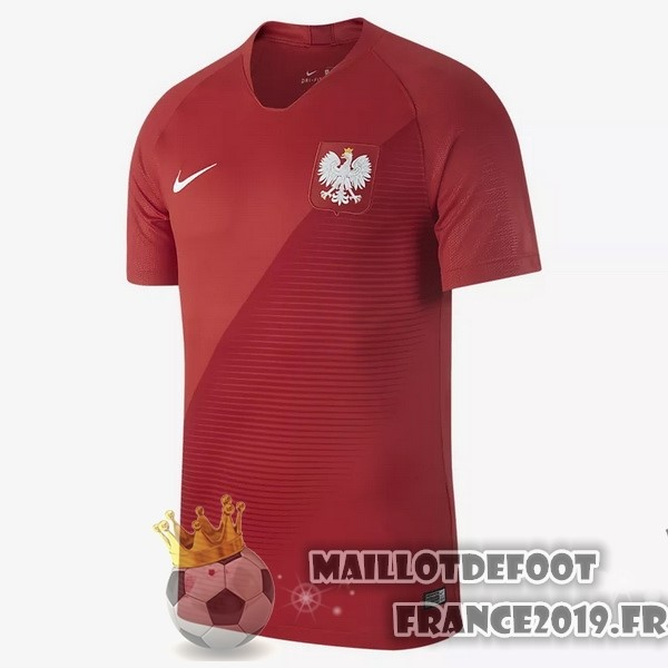 Maillot De Foot Nike Exterieur Maillots Pologne 2018 Rouge