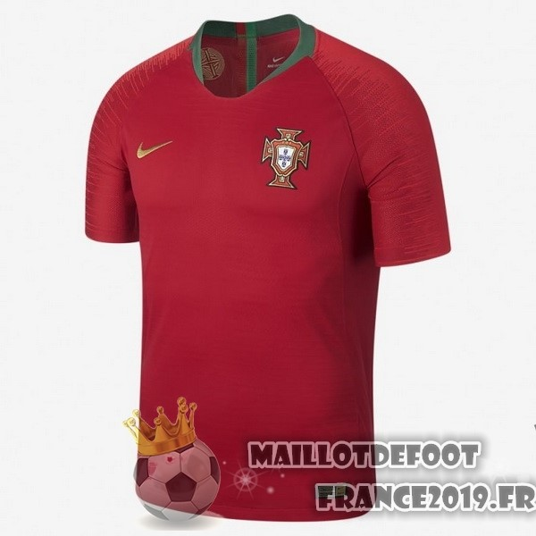 Maillot De Foot Nike Domicile Maillots Portugal 2018 Rouge