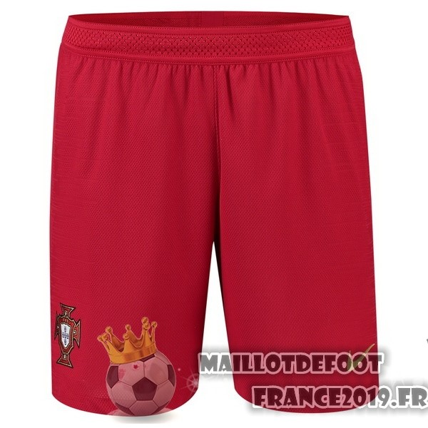 Maillot De Foot Nike Domicile Shorts Portugal 2018 Rouge