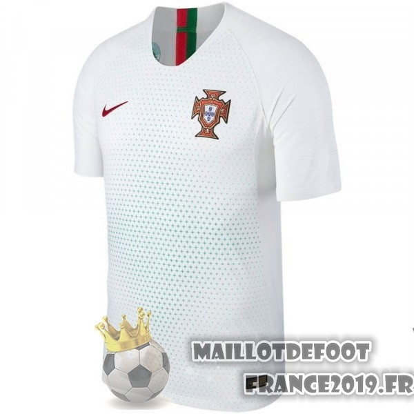 Maillot De Foot Nike Exterieur Maillots Portugal 2018 Blanc
