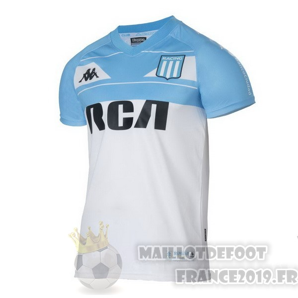 Maillot De Foot Kappa Domicile Maillot Racing Club 100th Blanc Bleu