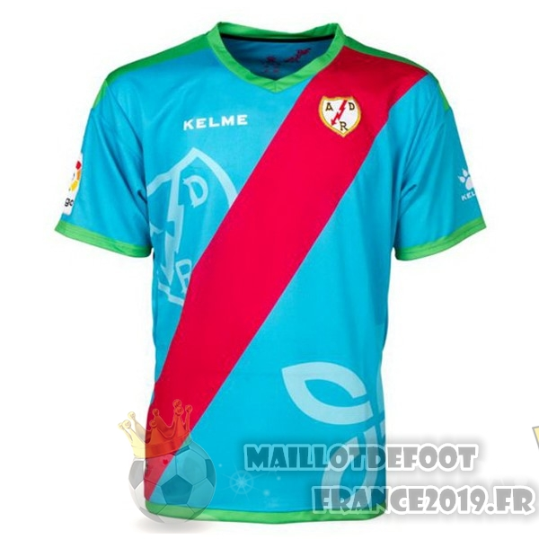 Maillot De Foot Kelme Third Maillots Rayo Vallecano de Madrid 18-19 Bleu