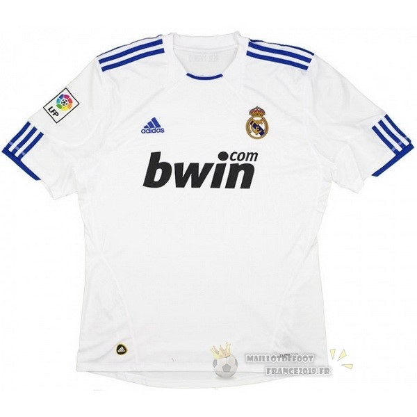 Maillot De Foot adidas Domicile Maillot Real Madrid Rétro 2010 2011 Blanc