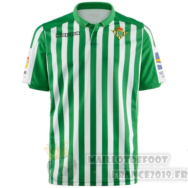 Maillot De Foot Kappa Domicile Maillot Real Betis 2019 2020 Vert