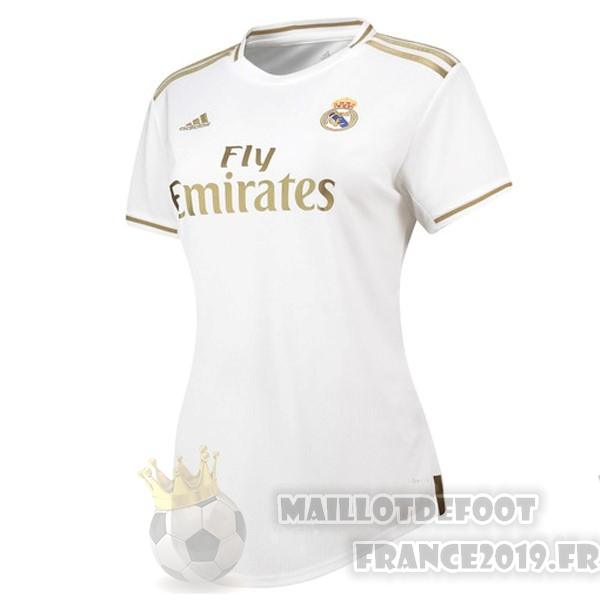 Maillot De Foot adidas Domicile Maillot Femme Real Madrid 2019 2020 Blanc
